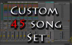 backing tracks Custom 45 song