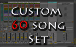 Custom backing tracks 60 song