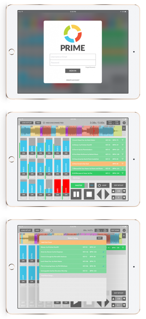 HOW TO USE THE PRIME multitrack app | Custom Backing Tracks